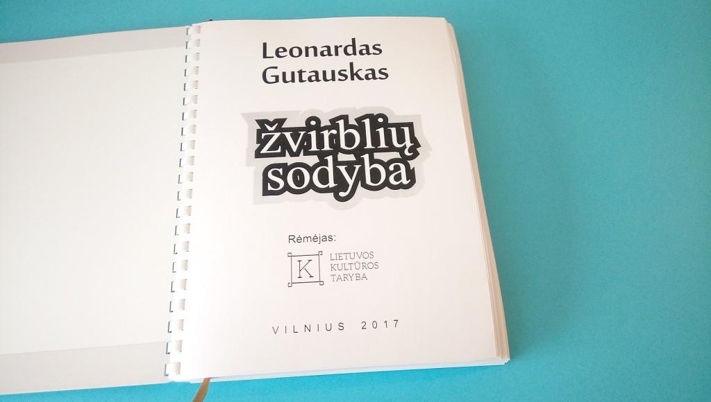 """L. Gutauskas """"Žvirblių sodyba"""""""